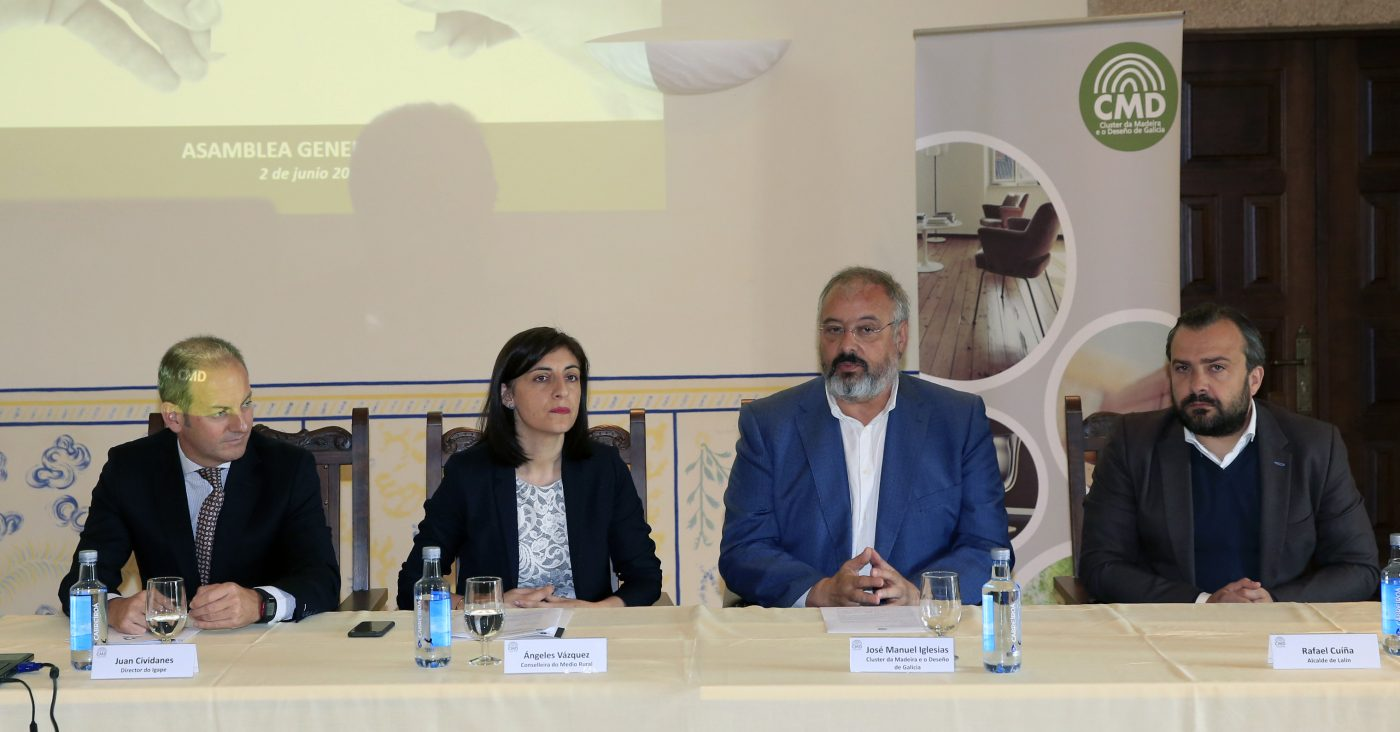José Manuel Iglesias, reelegido presidente del CMD por dos años más