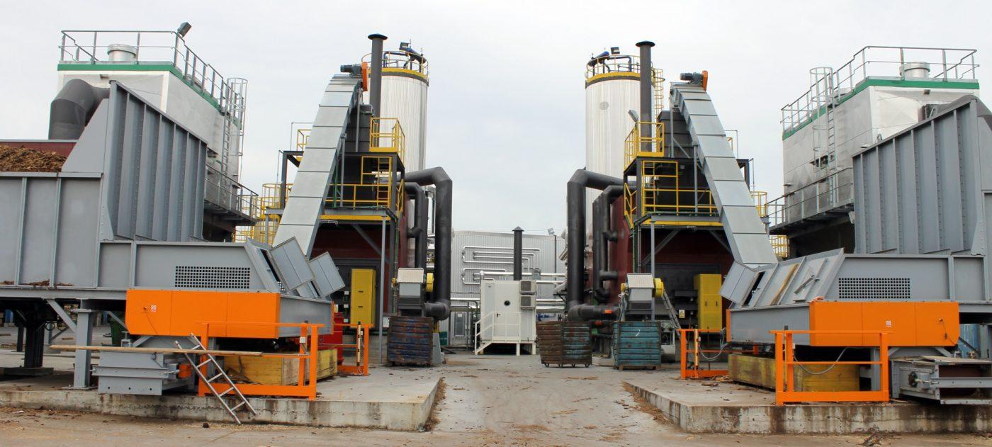 EBAKI instala dos nuevas calderas de biomasa para el secado de madera y serrín
