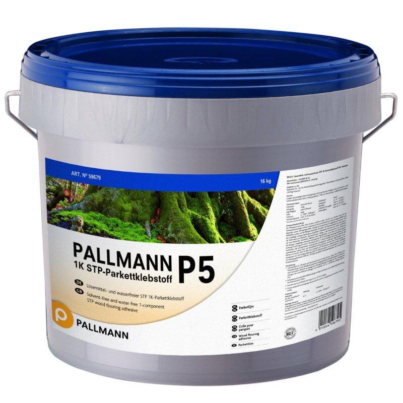 Nuevo adhesivo para suelos PALLMANN P5