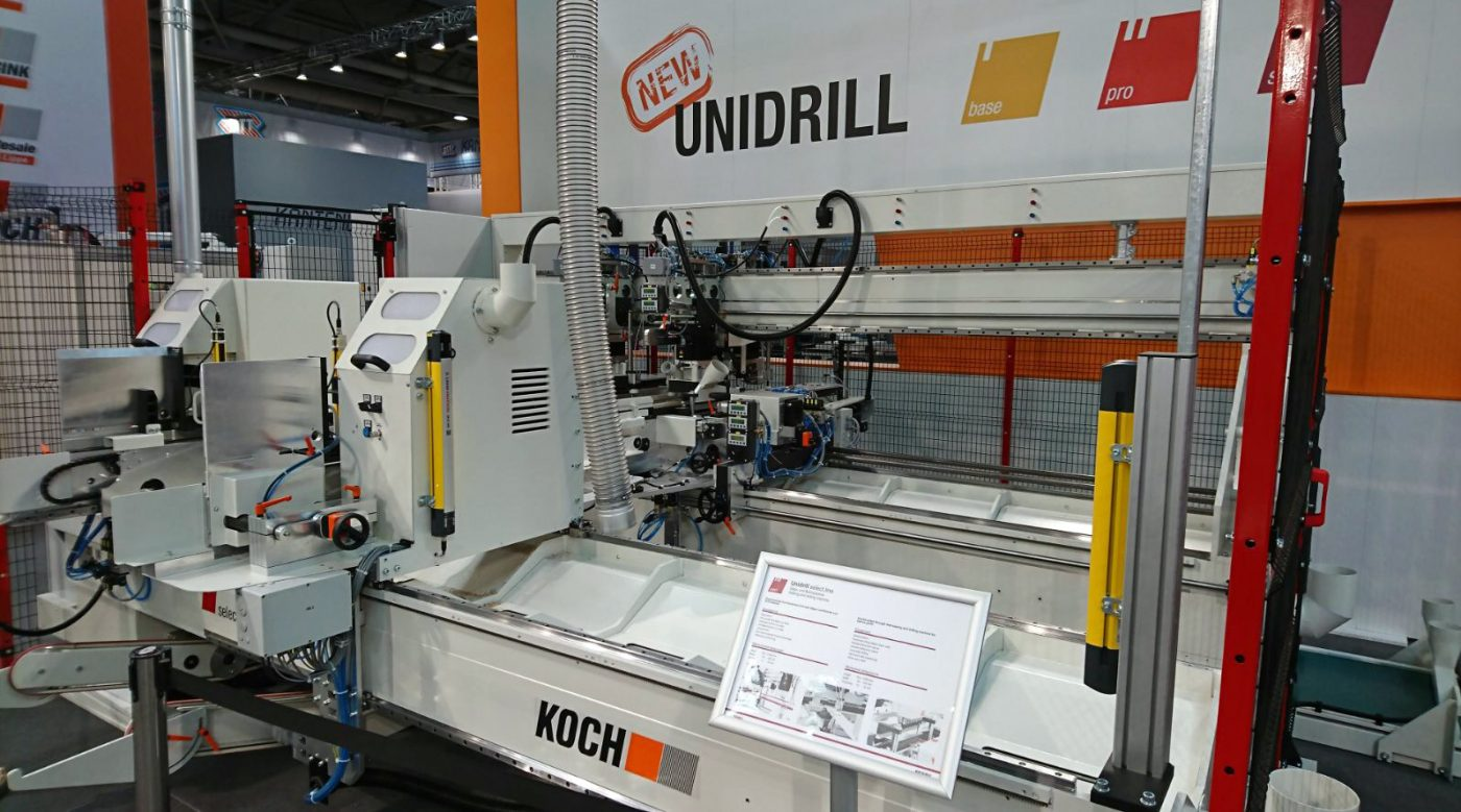 Koch lanza al mercado su nueva m quina unidrill madera for Koch transporte