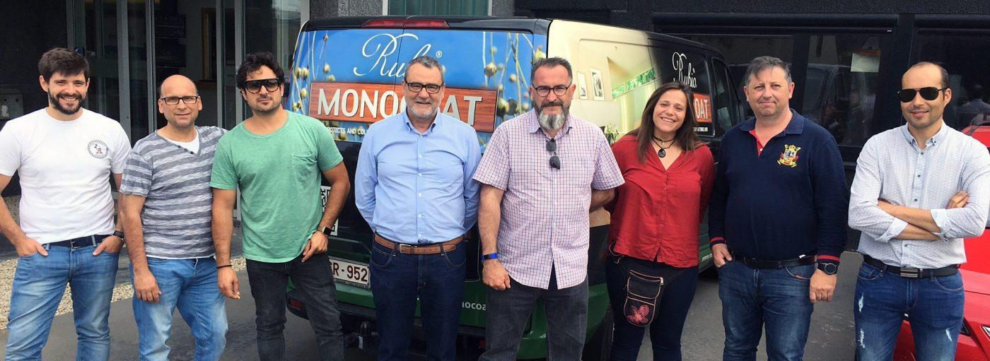 RUBIO® MONOCOAT muestra a industriales y aplicadores su nueva tecnología LED OIL