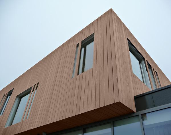 Colores de tendencia para la arquitectura exterior en madera