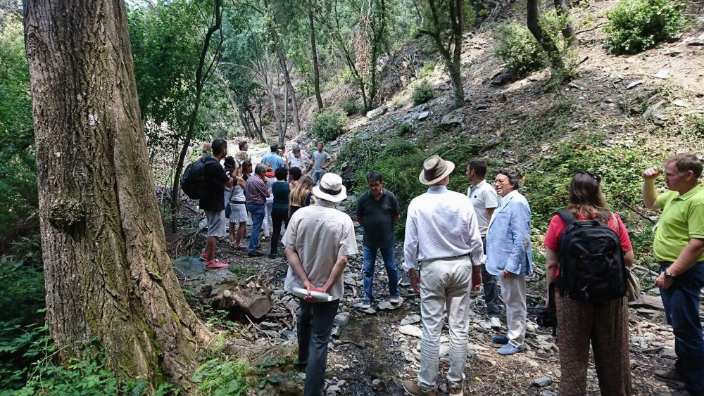 Itinerario forestal de la Diputación de Barcelona en reconocimiento a la labor de Joaquín Diéguez