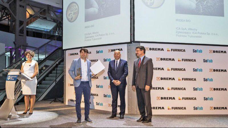 IRIDEA BIO, galardonado con la «Zloty Medal 2017» en la feria DREMA