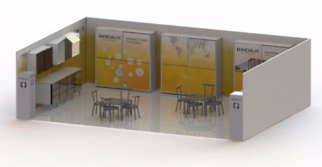 INDAUX exhibirá en SICAM 2017 sus novedades en correderas, colgadores y cajones