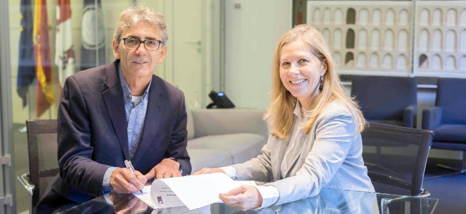 IE SCHOOL OF ARCHITECTURE AND DESIGN y AHEC firman un acuerdo para promover el desarrollo de proyectos sostenibles en madera estadounidense