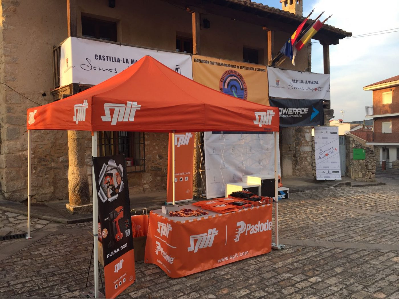 SPIT patrocina el Campeonato de Castilla-La Mancha de Descenso de Cañones