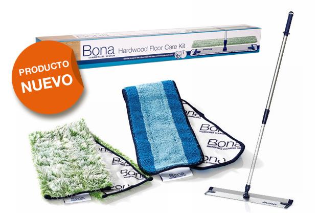 Nuevas herramientas BONA de limpieza profesional