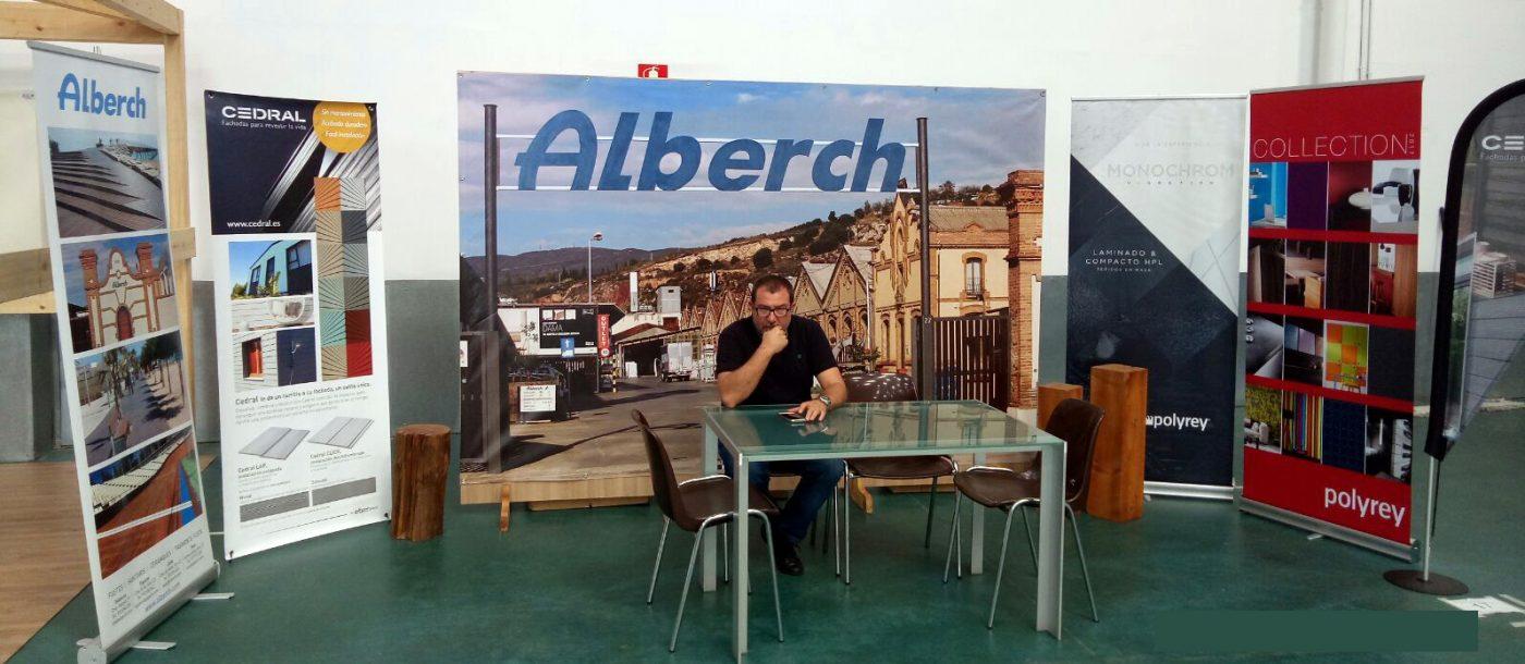Alberch presenta sus novedades en el segmento del pavimento bricolaje y fachadas ventiladas - Maderas alberch ...