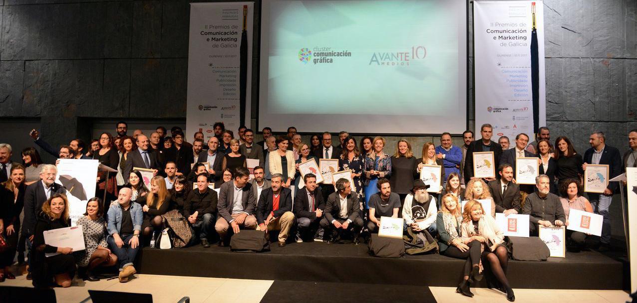 FINSA recibe un premio del Clúster de la Comunicación de Galicia