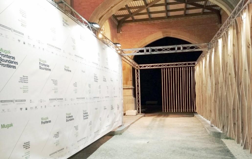 El mobiliario y la madera local, presentes en la I Bienal Internacional de Arquitectura de Donostia