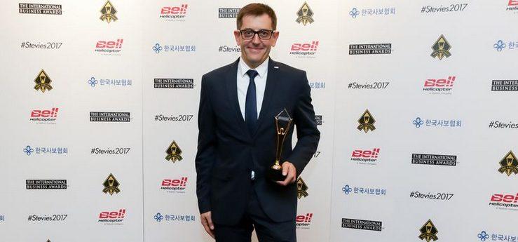 La nueva web de HOMAG recibe el Premio Stevie de Oro