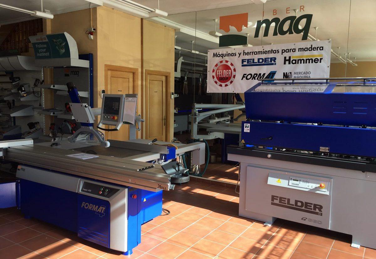 IBERMAQ distribuirá la maquinaria FELDER en Toledo, Ciudad Real y Albacete
