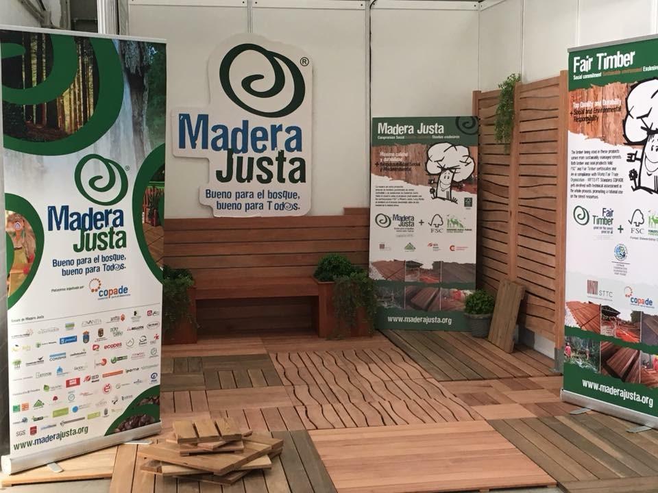 MADERA JUSTA, un año más en la feria de proveedores de LEROY MERLIN