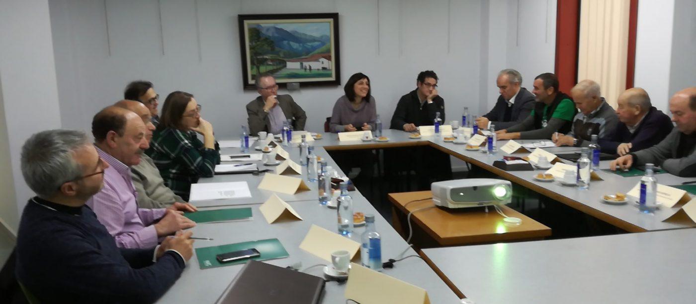 La Conselleira de Medio Rural visita montes vecinales del sur de Pontevedra