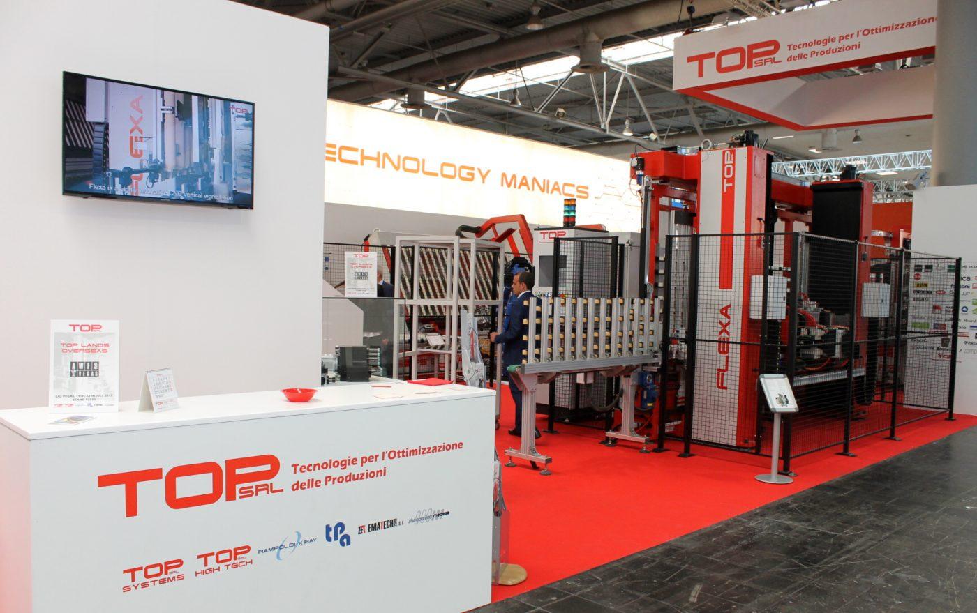 Los nuevos centros de trabajo de TOP, en FIMMA