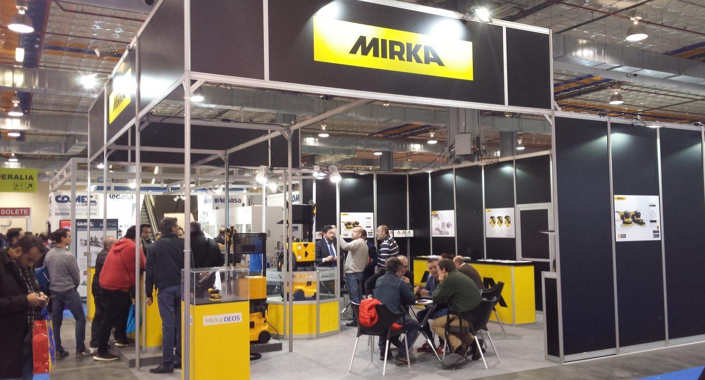 MIRKA Ibérica: Gran año de la marca en FIMMA-Maderalia 2018