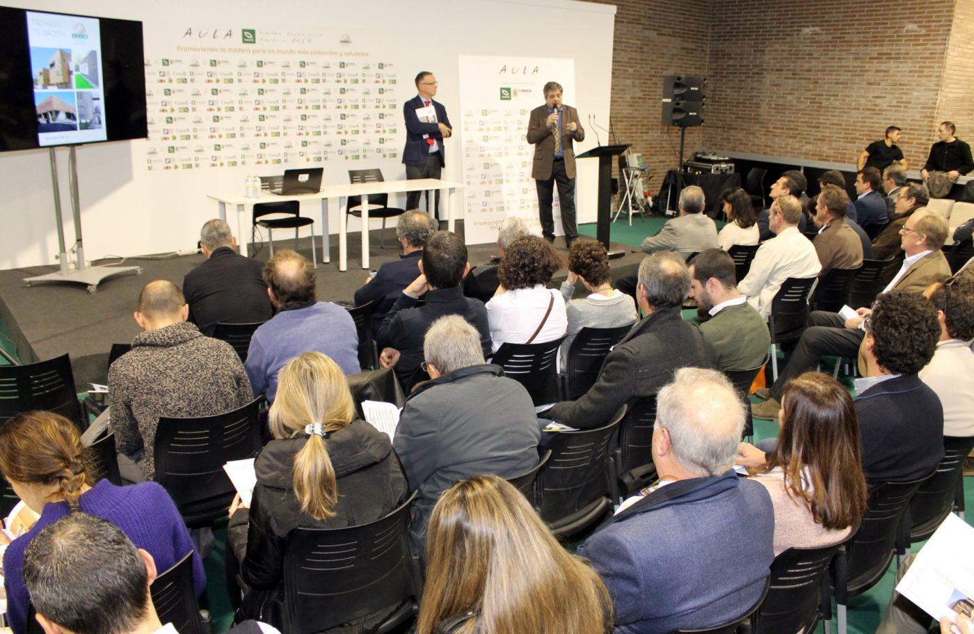 """Jornada: """"Arquitectura en madera para la construcción sostenible"""""""