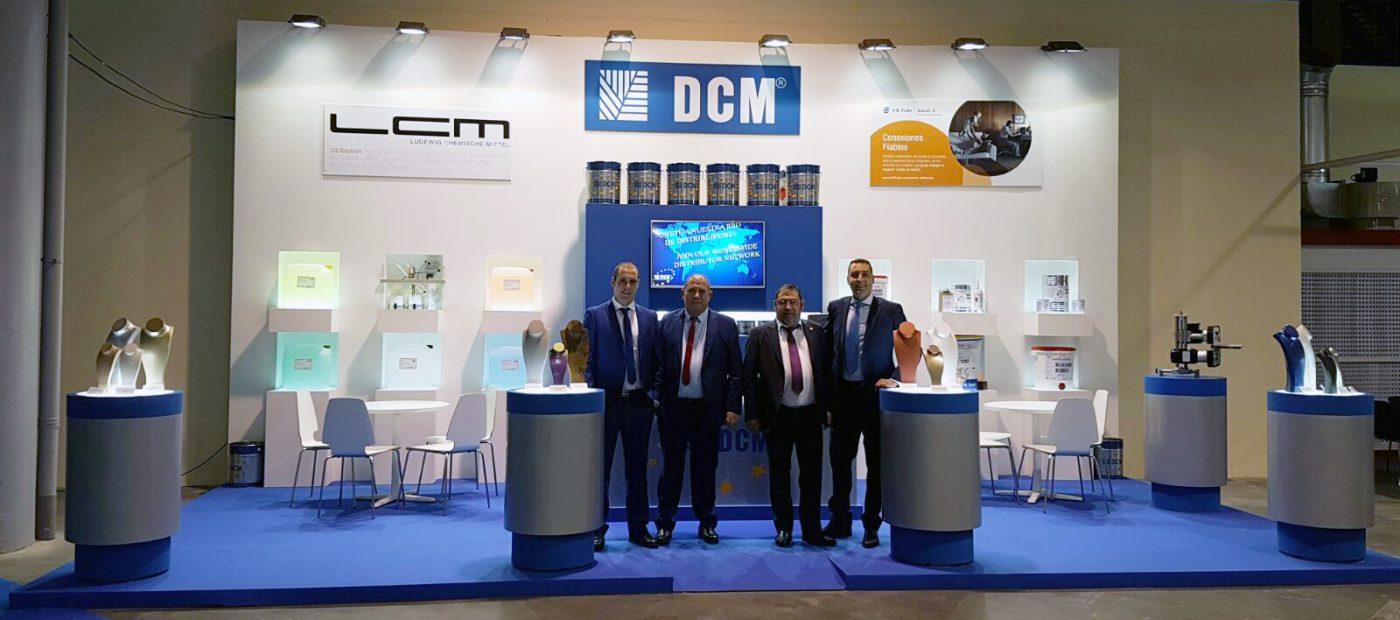 DCM Coatings exhibió en FIMMA-MADERALIA su gama de acabados DCM Special Effects