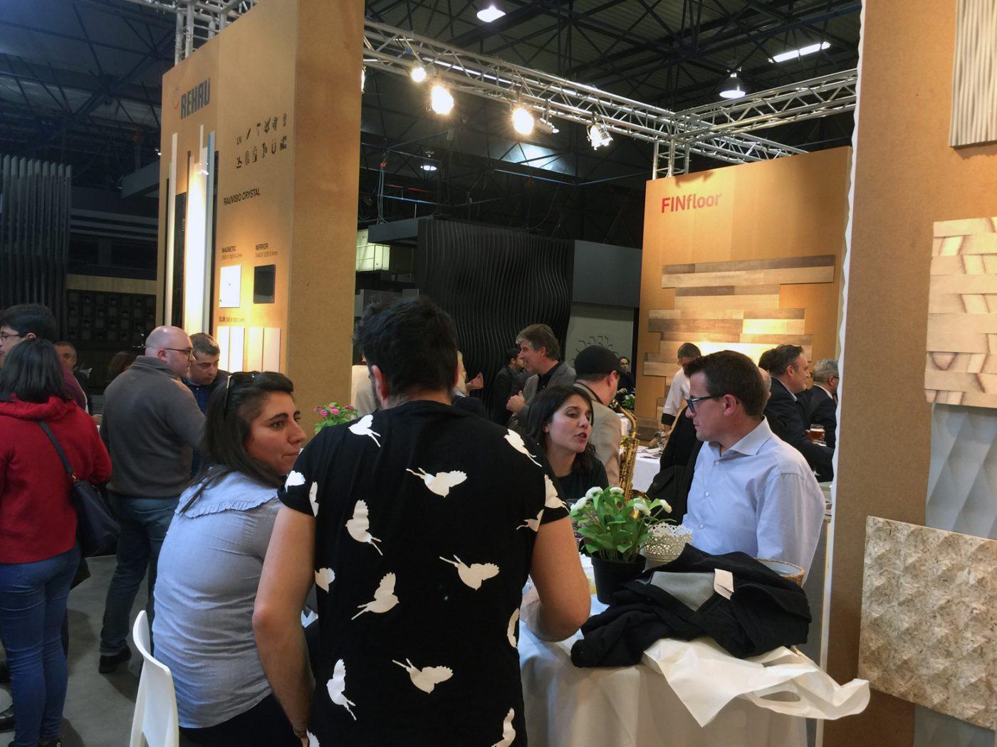 EMEDEC triunfó en Maderalia con sus soluciones para el revestimiento interior
