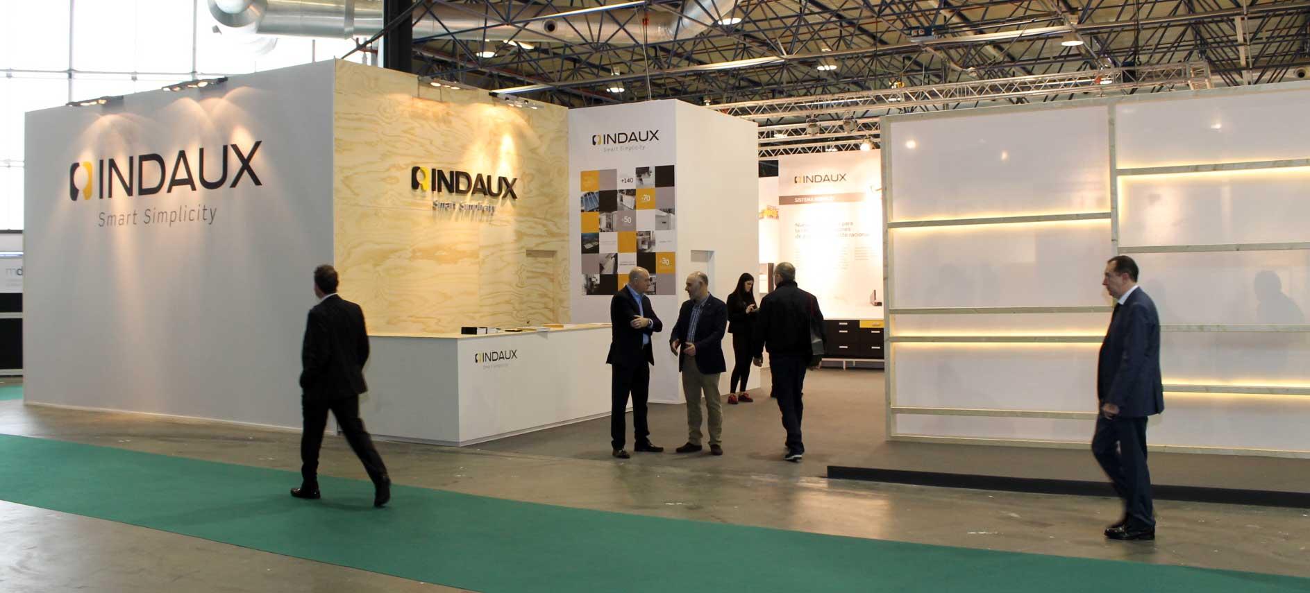 INDAUX presentó sus nuevos productos en MADERALIA