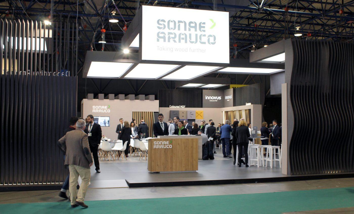 SONAE ARAUCO exhibió en Maderalia sus más recientes innovaciones de producto