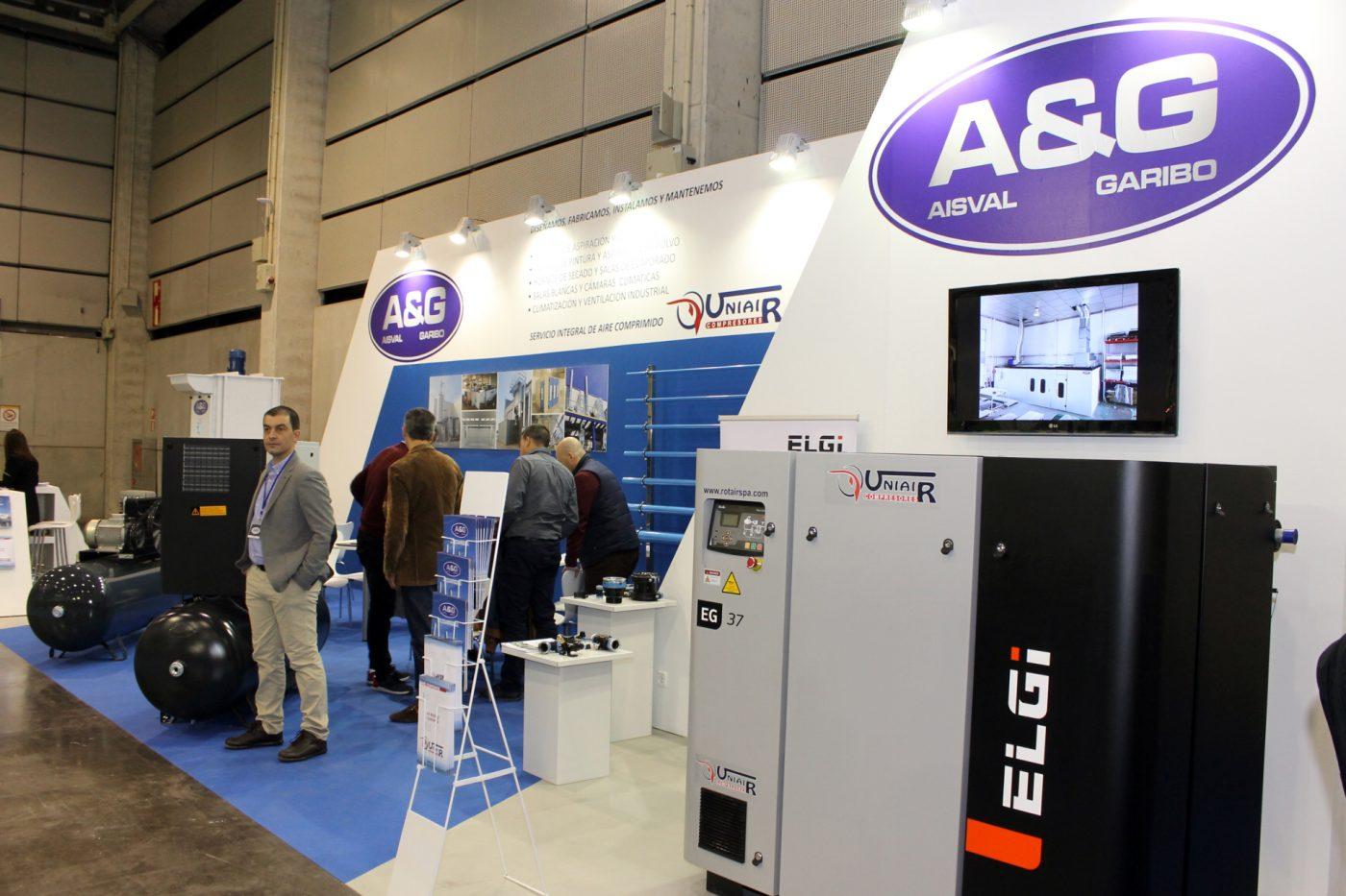 A&G distribuye los compresores ELGI y UNIAIR