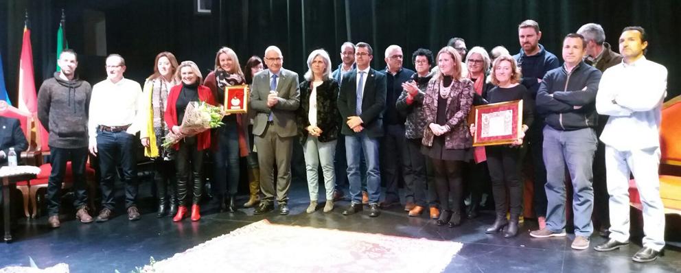 La ESCUELA DE LA MADERA recibe la Medalla de Encinas Reales por sus 25 años de trayectoria
