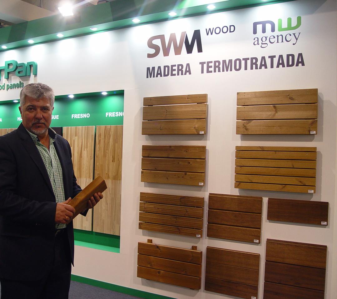 Llega a España la madera termotratada de SWM Wood