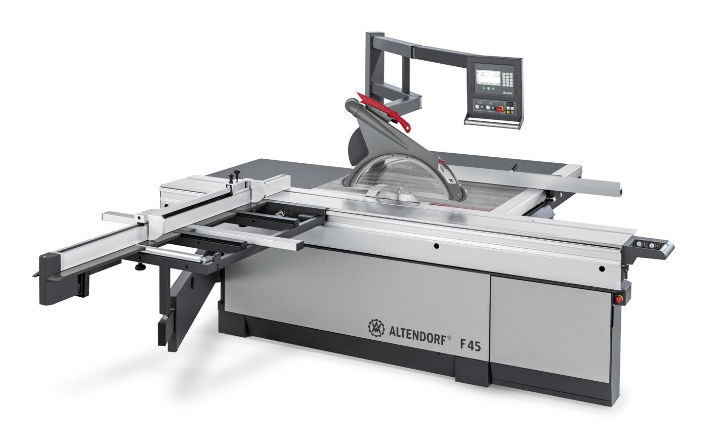 ALTENDORF le ayuda en el corte de materiales pesados y de gran formato