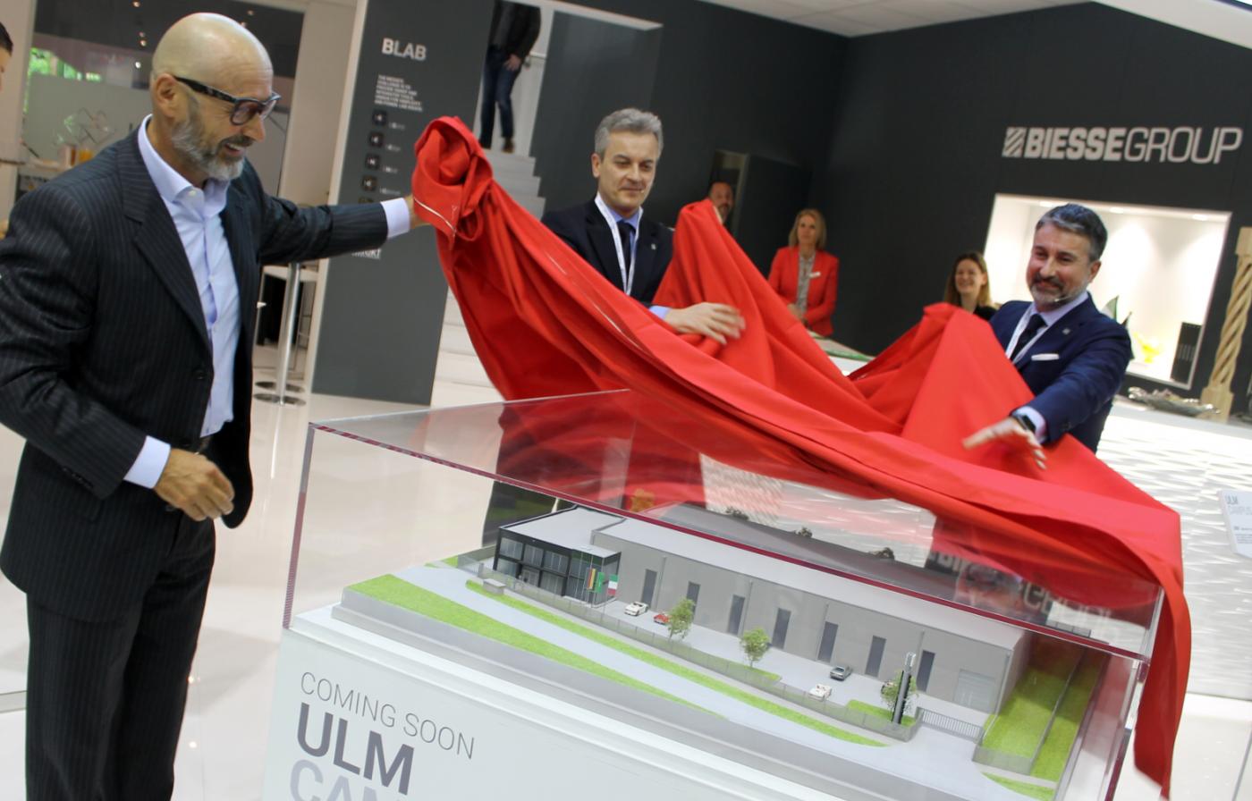 BIESSE presentó su nuevo Campus Ulm en la Holz-Handwerk 2018