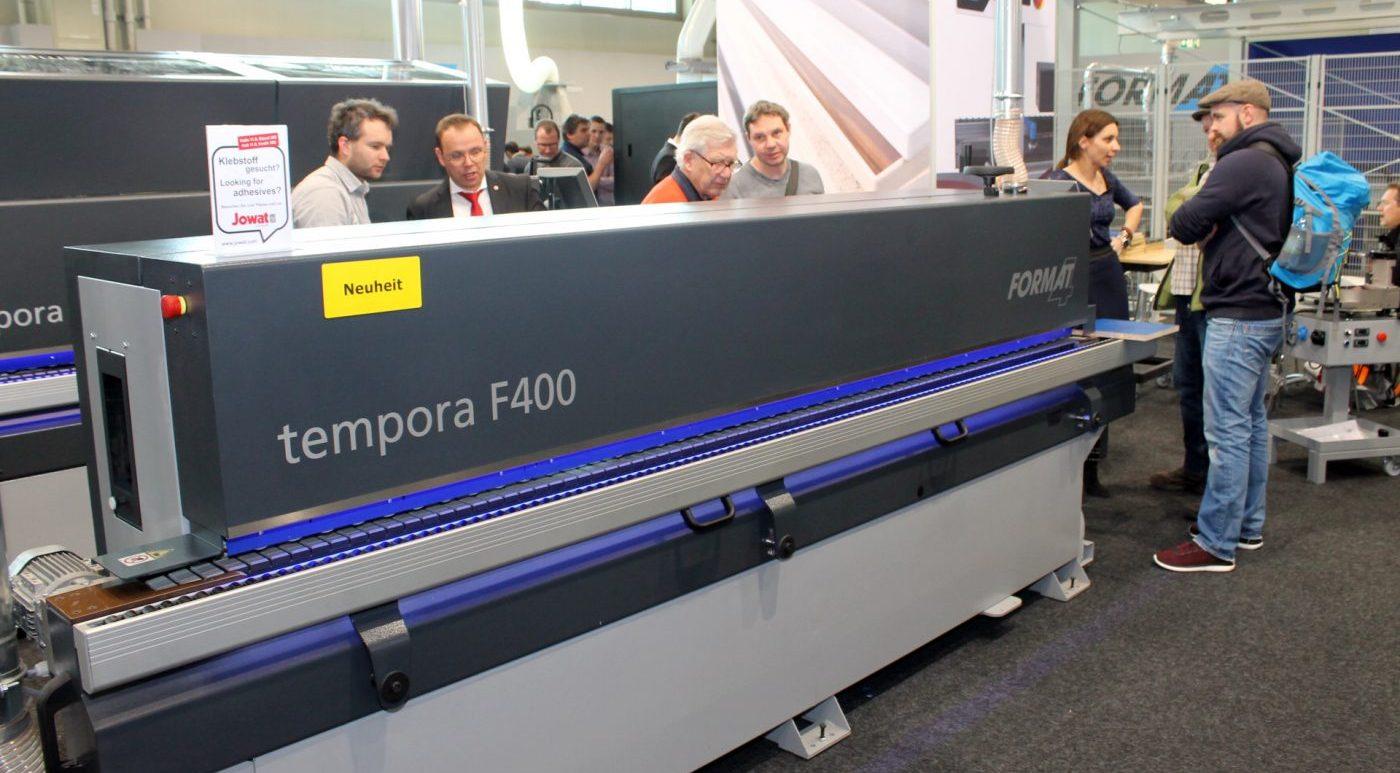 FORMAT-4 presenta la nueva chapeadora de cantos tempora F400 45.03 | 45.03L