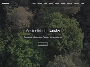 LOSAN lanza su nueva web