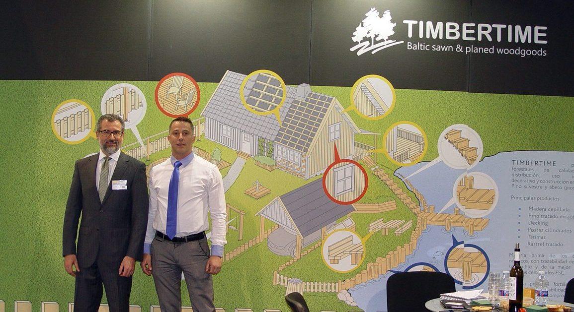 YUBERO & BELMONTE ofrece los productos de TIMBERTIME