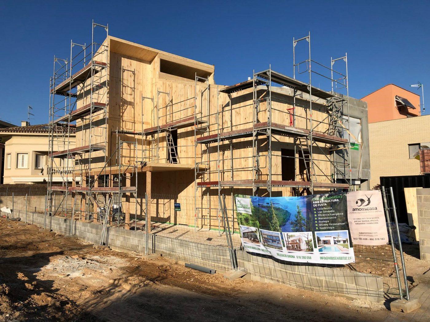 Nueva vivienda en CLT de HOUSE HABITAT en Vilanova i la Geltrú