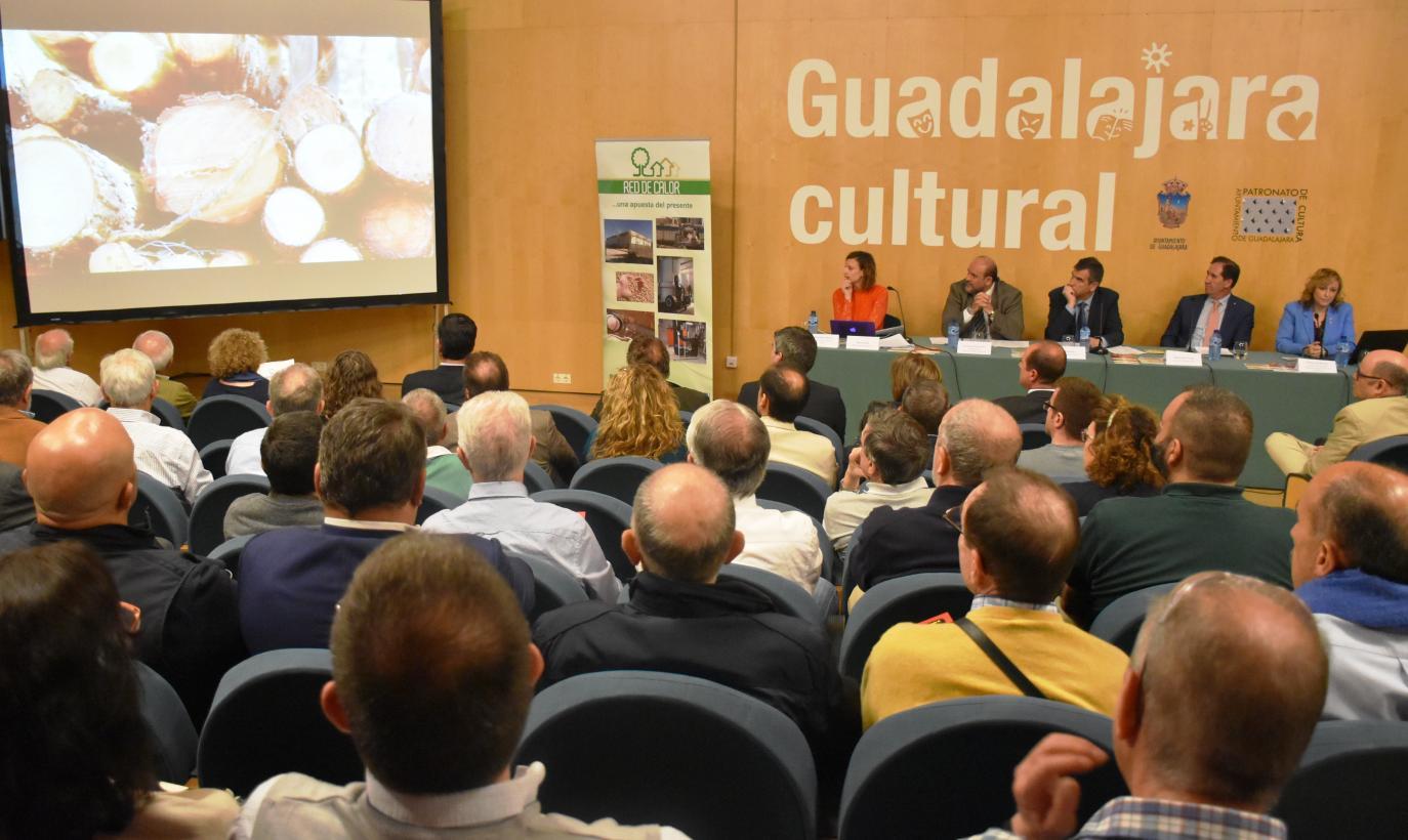 """REBI presenta el proyecto """"Red de Calor de Guadalajara"""""""
