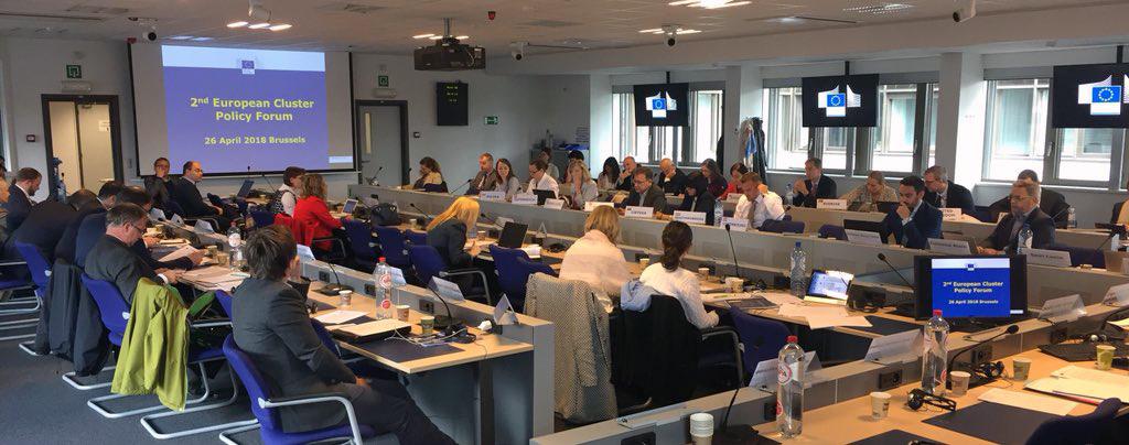 AMUEBLA participa como experto en el encuentro europeo de clústers celebrado en Bruselas