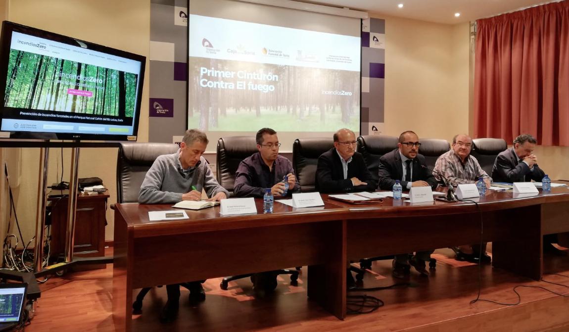 """En marcha el """"Primer Cinturón Contra El Fuego"""" del proyecto incendiosZero"""
