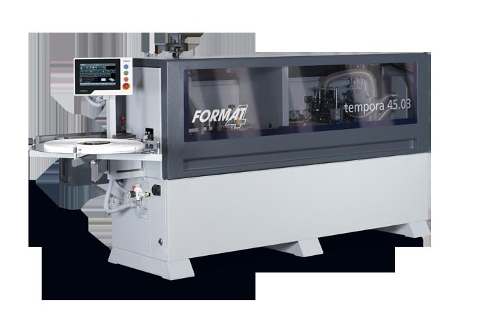 Nueva generación de encoladoras de cantos FORMAT4, con tecnología SMARTOUCH