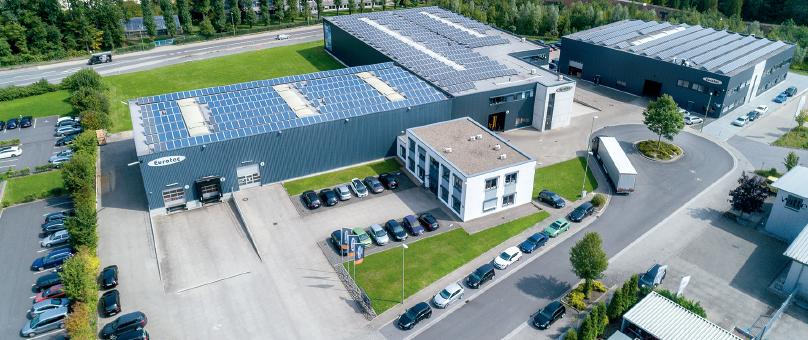 EUROTEC presentó sus productos y sistemas de fijación en el CARREFOUR DU BOIS