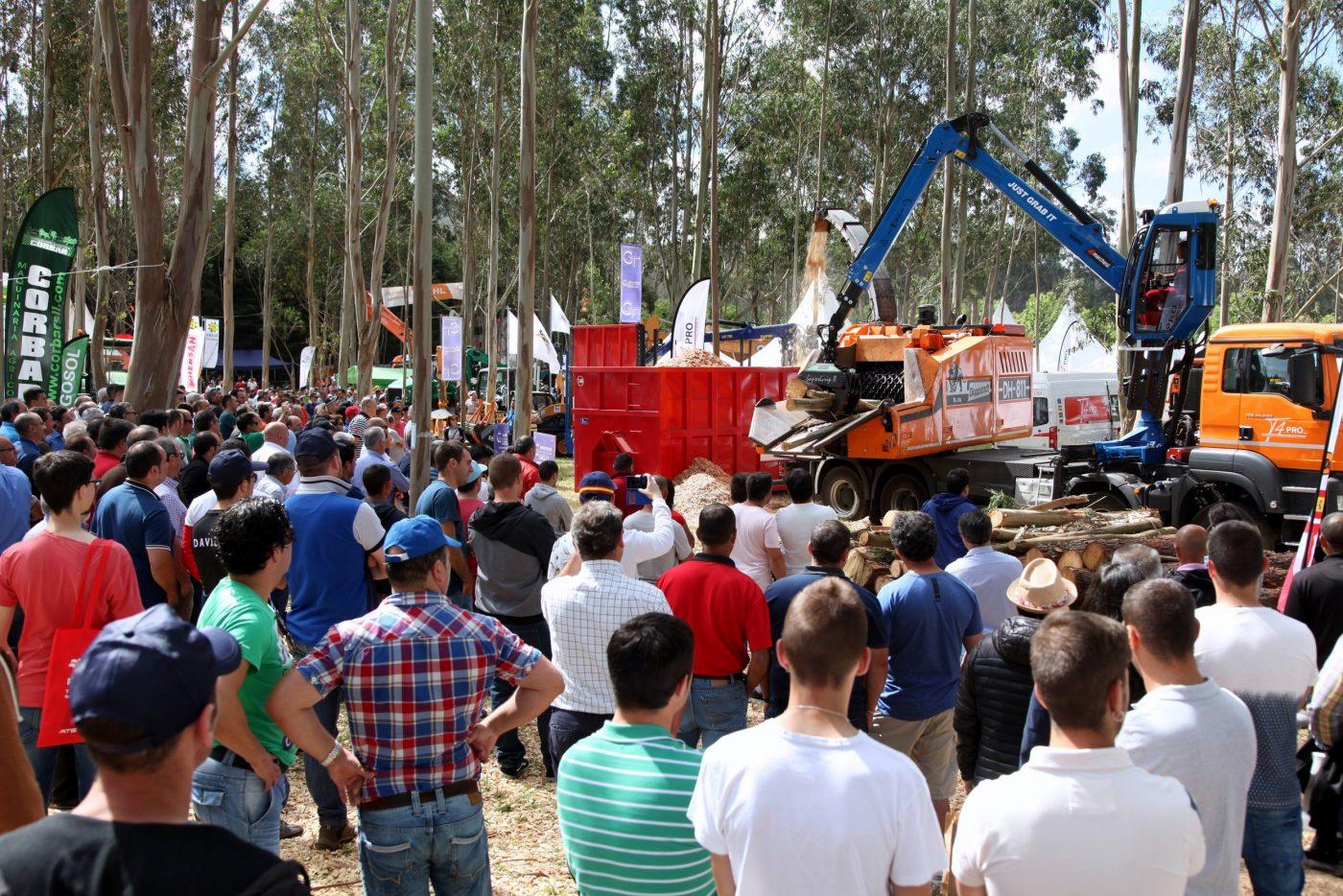 GALIFOREST ABANCA acogerá más de 150 demostraciones en vivo de maquinaria forestal