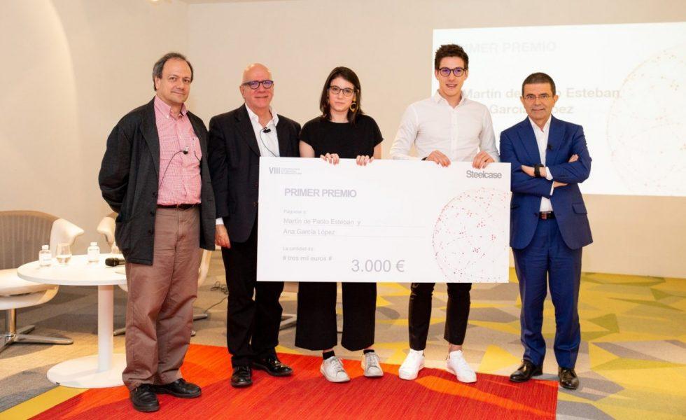 STEELCASE entrega los galardones de su VIII Concurso para Estudiantes de Arquitectura
