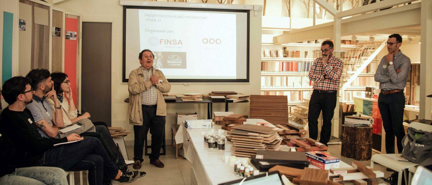 RUBIO MONOCOAT presenta sus aceites para madera en FINSA21