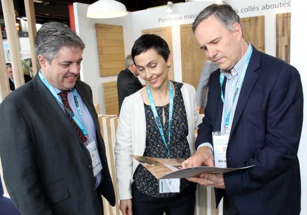 Balance positivo de los asociados en aeim del carrefour du bois 2018 madera sostenible es un - Maderas alberch ...