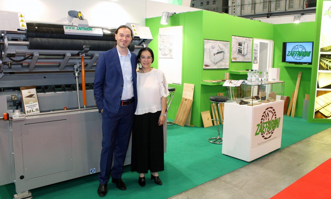 ZAFFARONI presenta sus máquinas especiales para el mecanizado del tablero