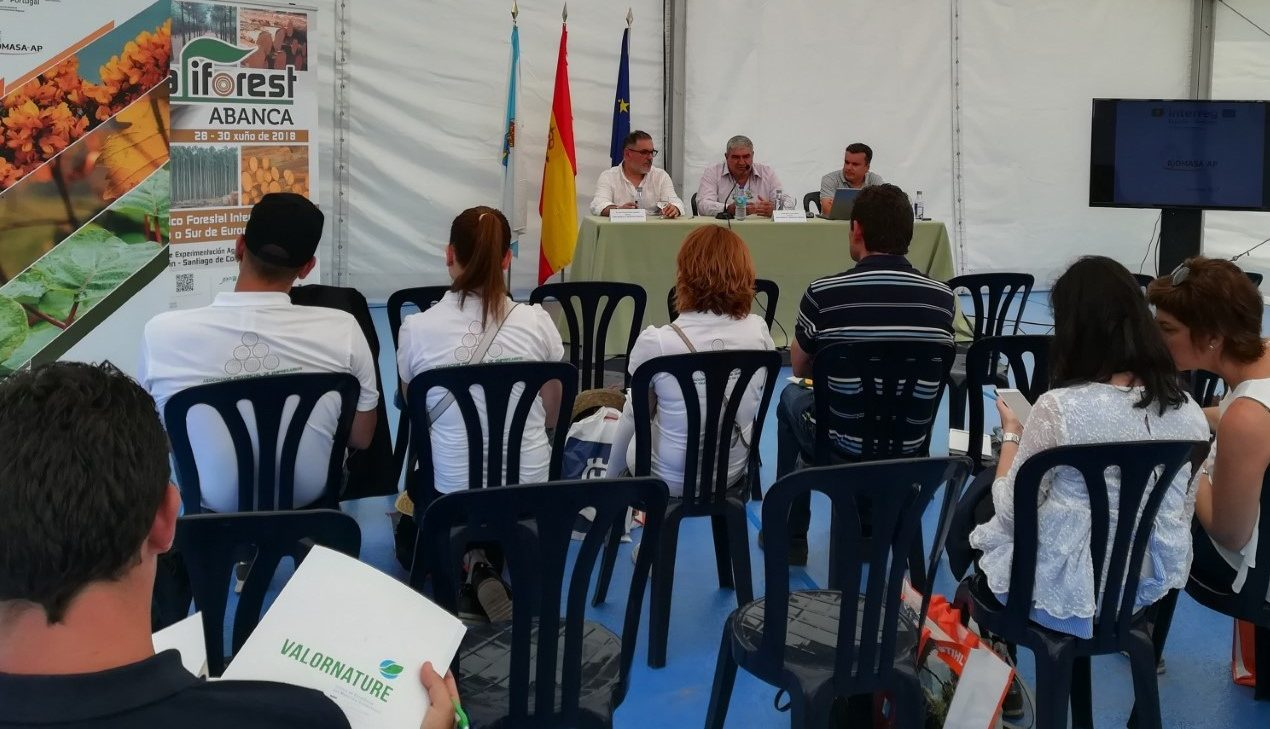 GALIFOREST ABANCA presentó los proyectos Biomasa-AP y Valornature