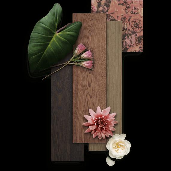 La belleza rústica llega al suelo de madera