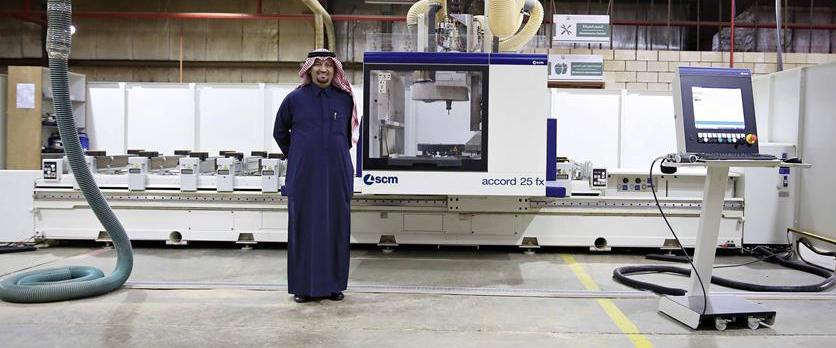 AL-GHAMDI WOOD: El «Rey» Saudí de las Puertas y los muebles personalizados