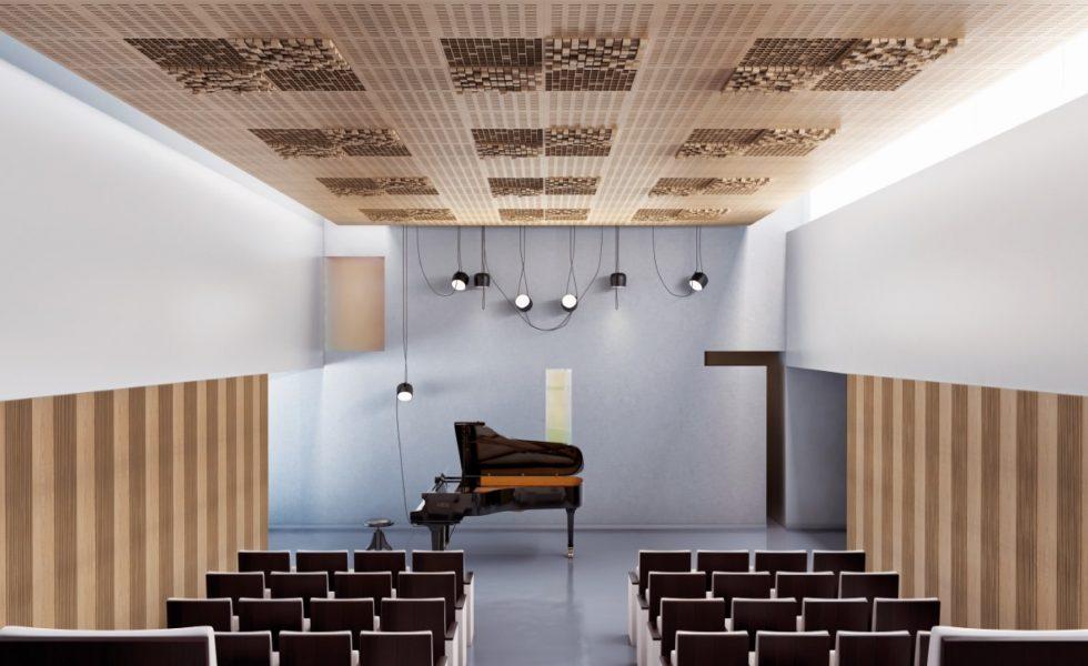 IDEATEC ofrece difusores de sonido de madera con características diferentes y diseños únicos