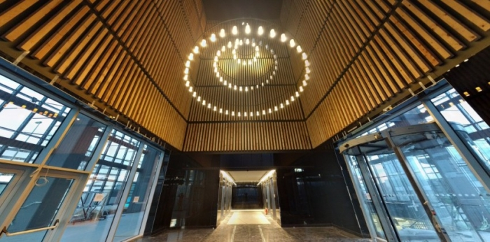 Torre Chamartín se reviste con listones de madera Bs1d0